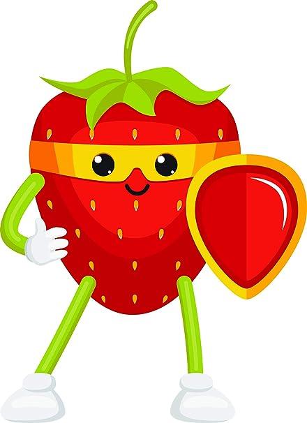 Fruits Orange Strawberries Car Laptop Phone Vinyl Sticker SELECT SIZE