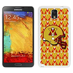 Popular And Durable Designed Case With NCAA Big South Conference VMI Keydets 6 Protective Cell Phone Hardshell Cover Case For Samsung Galaxy Note 3 N900A N900V N900P N900T Phone Case White
