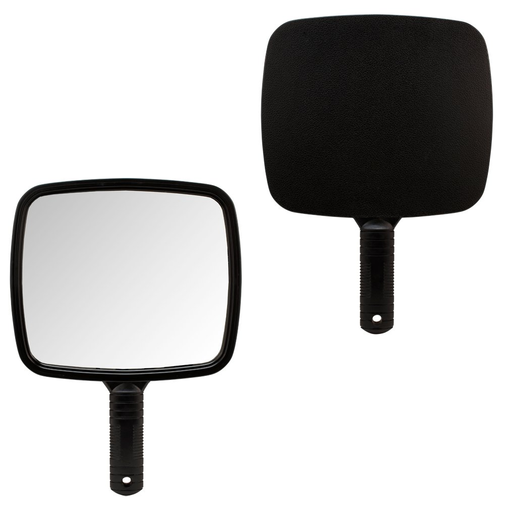 1 X BLACK Large TV Salon Barber Hand Cosmetic Makeup Hair Stylist Mirror 7