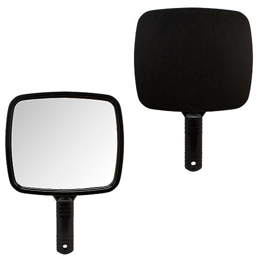 1 X BLACK Large TV Salon Barber Hand Cosmetic Makeup Hair Stylist Mirror 7