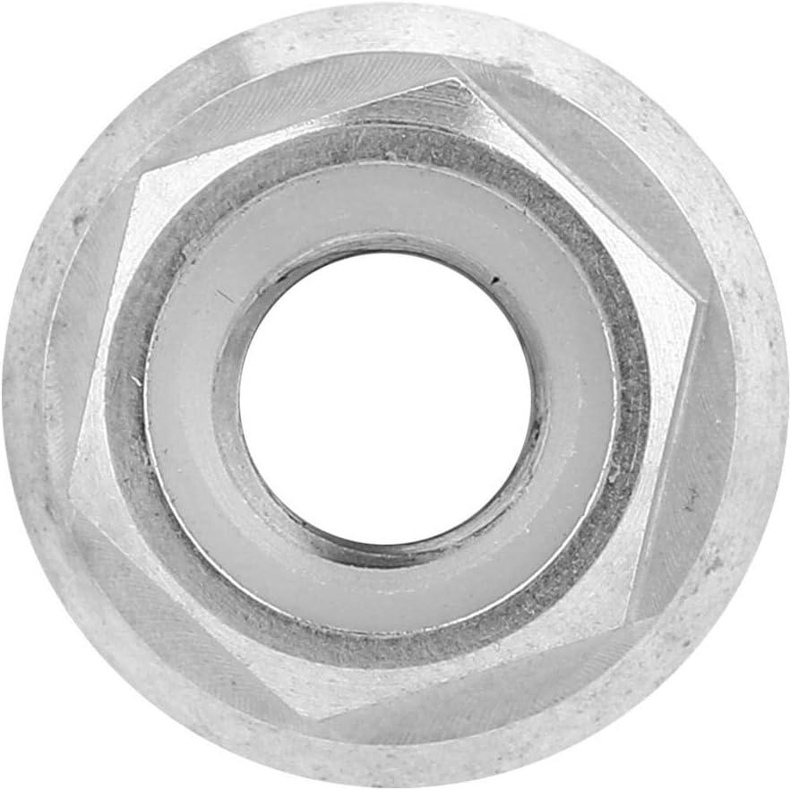 Dilwe Tuerca de Brida de Titanio 1 Pieza anticorrosi/ón M5 M6 M8 M10 M14 Tuercas de Bloqueo Hexagonal para Bicicletas y Motocicletas