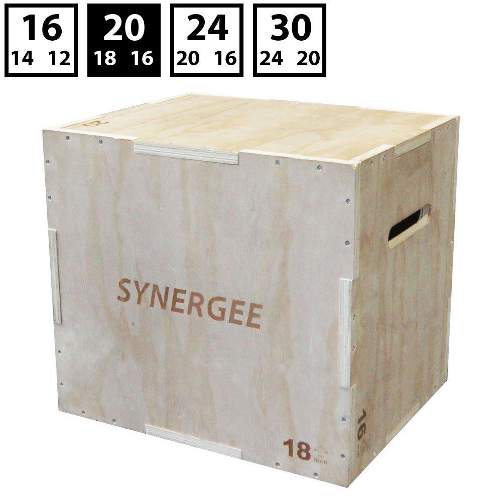 【楽天最安値に挑戦】 シナジー3 24 in 1木製Plyometricジャンプのトレーニングとコンディショニングのボックス。木製Plyoボックスすべて1つのジャンプトレーナー 20/18/16。サイズ30/ 24 20/18/16/ 20 , 24/ 20/ 16、20/ 18/ 16、16/ 14/ 12 B071CQ97KX 20/18/16 20/18/16, 個性派フォトアルバム「GADO工房」:65a6ee44 --- arianechie.dominiotemporario.com