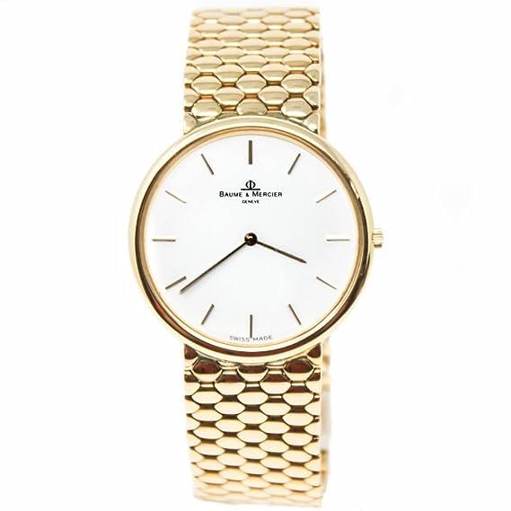 Baume et Mercier – moa01175 cuarzo mujer reloj moa01175 (Certificado) de segunda mano