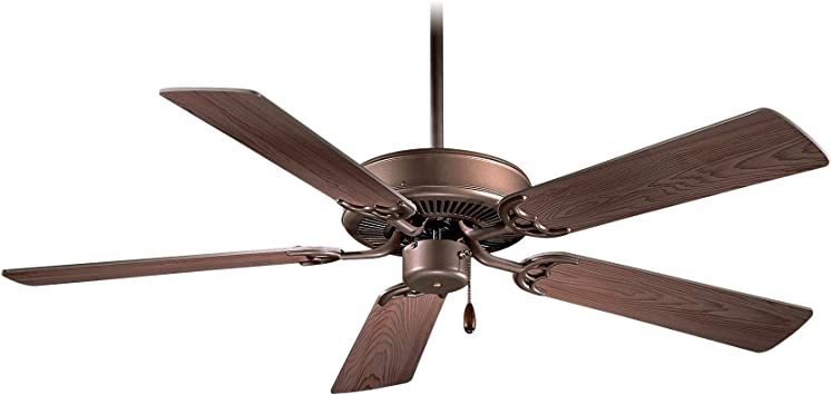 Minka Aire F546 Orb Downrod Mount 5 Bronze Blades Ceiling Fan Oil Rubbed Bronze Bronze Ceiling Fan Hunter Amazon Com