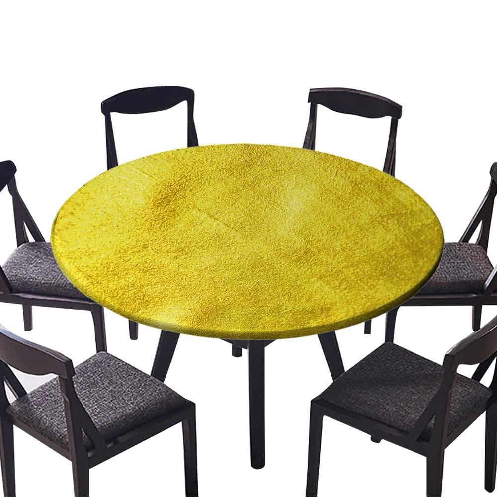 円形フィットテーブルクロス 木目調 背景 リビングルームインテリア 森の背景 あらゆる機会に (エラスティックエッジ) 35.5