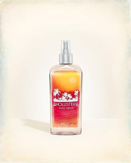 Hollister Co. Mango sunrise para mujer cuerpo de fragancia niebla 8 oz/236 ml