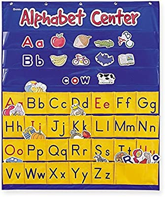 Learning Resources Alphabet Center Pocket Chart Abcs Letter Word Recognition 212 Pieces Buy Online At Best Price In Uae Amazon Ae