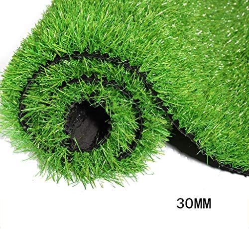 XEWNEG 屋外人工芝、高さ30MM、排水穴付きUV保護カーペットマット、ペットマットに適していますガーデンテラス結婚式会場の装飾 (Size : 2x2M)
