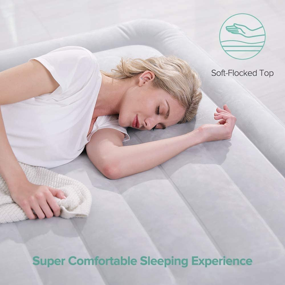 Air Bed Sable Inflatable Blow Up Bed Full Size