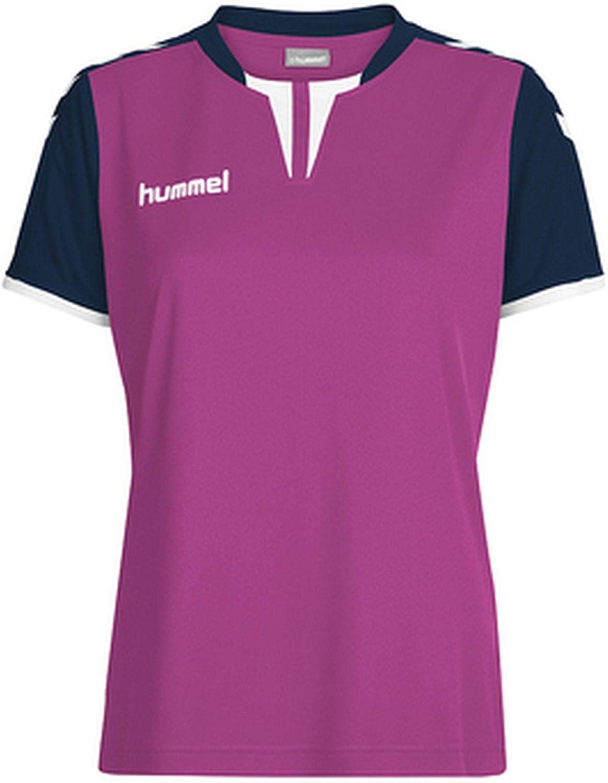 Hummel Damen Trikot Core Womens SS Jersey 03649 Rose Violet//Marine PR S