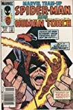 Marvel Team-up #147 Featuring Spider-man and the Human Torch November 1984