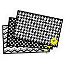 Children Placemats (25 Count) Disposable & Stick-on - Now with 3 Designs In Every Pack! By Abielle