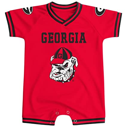 sports shoes 62f93 08d9c Amazon.com : Colosseum Georgia Super Fan Baby Onesie, 3-6 ...