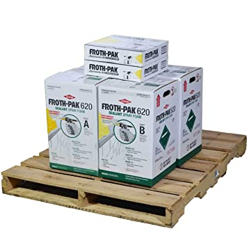Dow espuma Pak 620, 2 completa spray sellador Kits, cubre 1240 SQ FT: Amazon.es: Bricolaje y herramientas