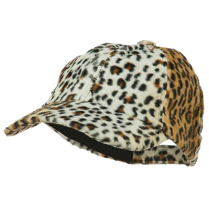 ad59e88c01a1e SS Hat Animal Print Baseball Cap - Brown OSFM at Amazon Women s Clothing  store