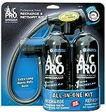 InterDynamics A/C Pro Auto Refrigerant Recharge & Retrofit Kit (Two 15 oz. cans)