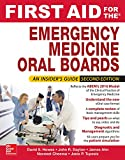 img - for First Aid for the Emergency Medicine Oral Boards, Second Edition book / textbook / text book