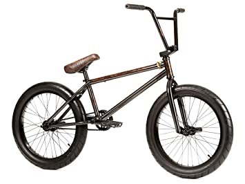 Bicicleta Stereo Bikes Flash, estilo BMX, color negro, 21 pulgadas