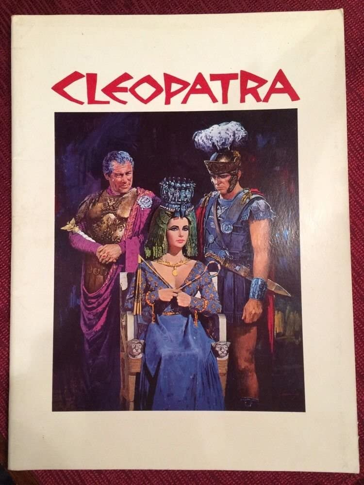 Cleopatra 1963 Original Movie Program Elizabeth Taylor Richard Burton Not A Dvd At Amazon S Entertainment Collectibles Store