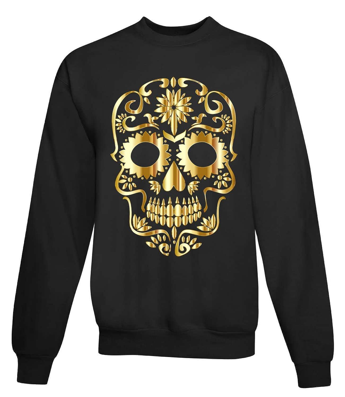 Gold Skull Women'S Unisex Sweatshirt