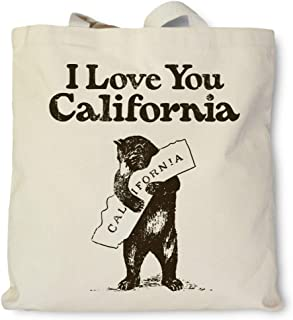 product image for Hank Player U.S.A. I Love You California Tote Bag