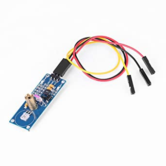 Sensor de Láser Detector de Obstáculo Módulo de Transmisor de Receptor Distancia Efectiva de 1.5m