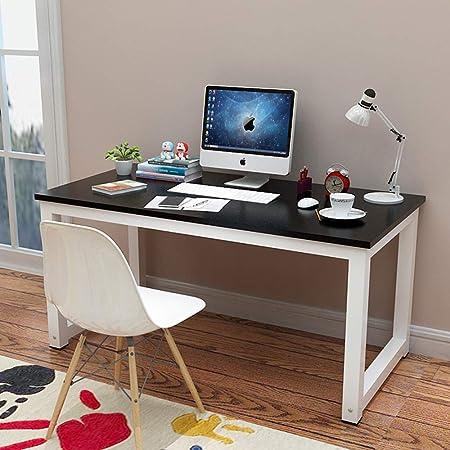 Ncloyn Mesa De Ordenador Mesa Pc Mesa De Oficina,madera Mesa De ...