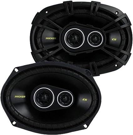Kicker Cs693 Cs6934 6x9 Zoll 16x23cm Oval Koax Lautsprecher Elektronik