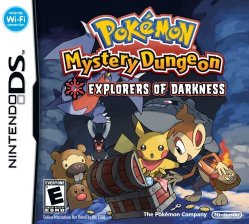 Pokemon Mystery Dungeon: Explorers of Darkness (Nintendo DS) [importación inglesa]: Amazon.es: Videojuegos