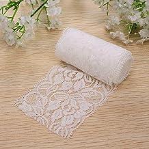 Bazaar 2m Wonderful Vintage White Lace Trim Bridal Wedding Ribbon Trimmings Sewing Craft