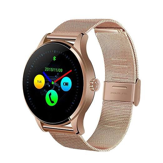 TWNHMJ Smart Watch Rastreador de Ejercicios Reloj Inteligente ...