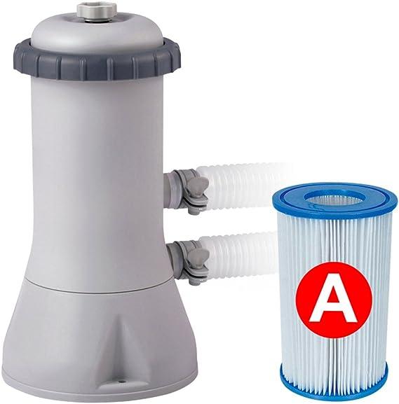 Intex 26166NP Piscina hinchable, con depuradora, 12.430 litros ...