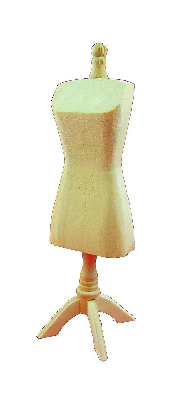 Melody Jane Miniatura per Casa delle Bambole Manichino in Legno Sarta Sarti