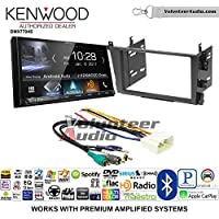 Volunteer Audio Kenwood DMX7704S Double Din Radio Install Kit with Apple CarPlay Android Auto Bluetooth Fits 2001-2003 Acura CL and 1999-2003 Acura TL (Factory Amplified)