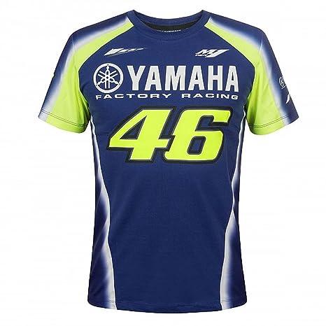 Valentino Rossi Vr46 Moto Gp Yamaha Factory Racing Team T Shirt