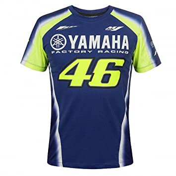 714ebbd2144 Valentino Rossi VR46 Moto GP M1 Yamaha Factory Racing Team T-shirt Official  2018