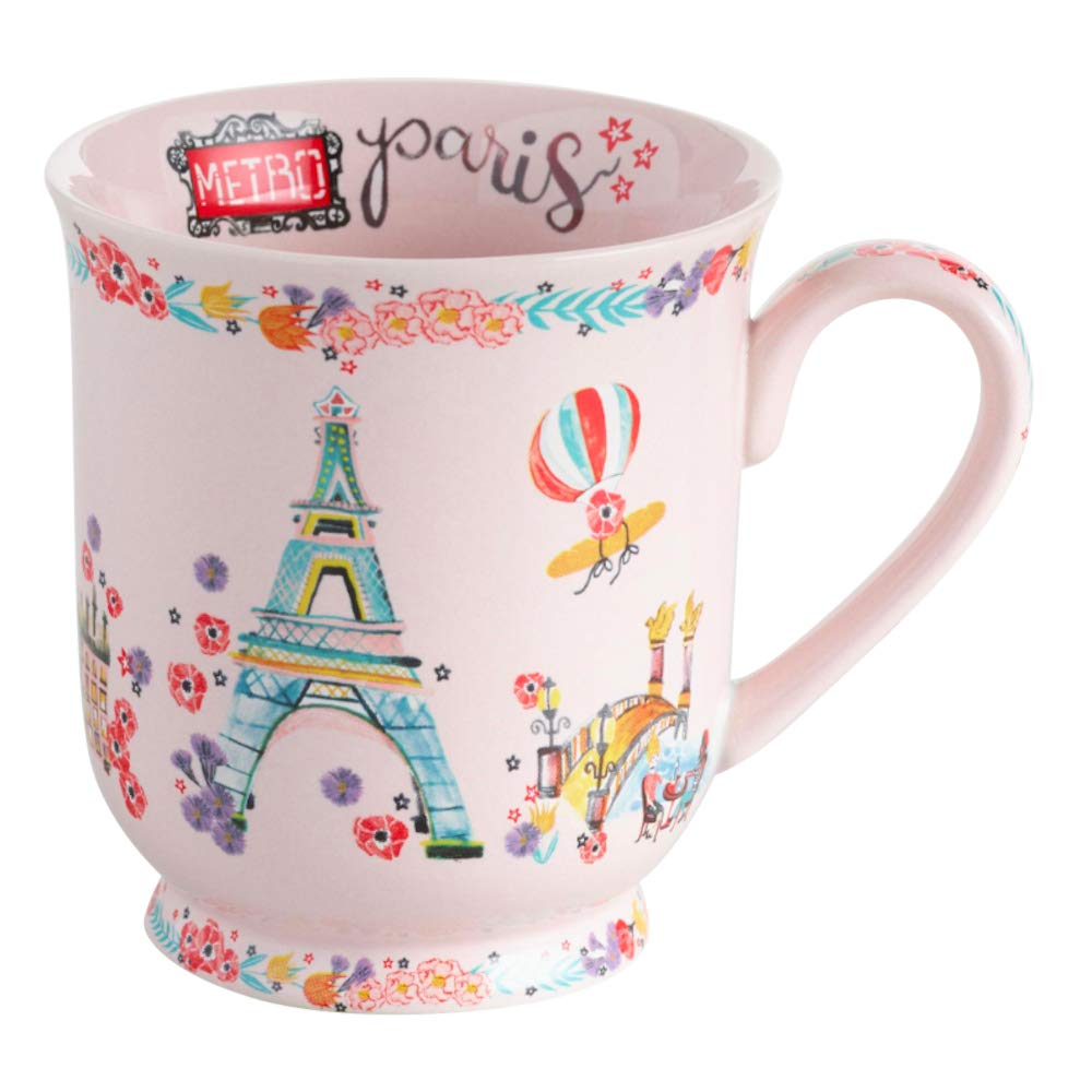 Paris Coffee Mug and Paris is Always a Good Idea Journal Bundle Presents for Her: Cute Notebooks, Journals, Diaries for Women and Teen Girls