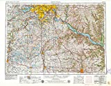 YellowMaps Saint Paul MN topo map, 1:250000 Scale, 1 X 2 Degree, Historical, 1953, Updated 1979, 27.23 x 21.53 in