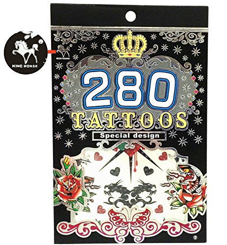 Tapp CollectionsTM 280 Temporary Tattoos product image