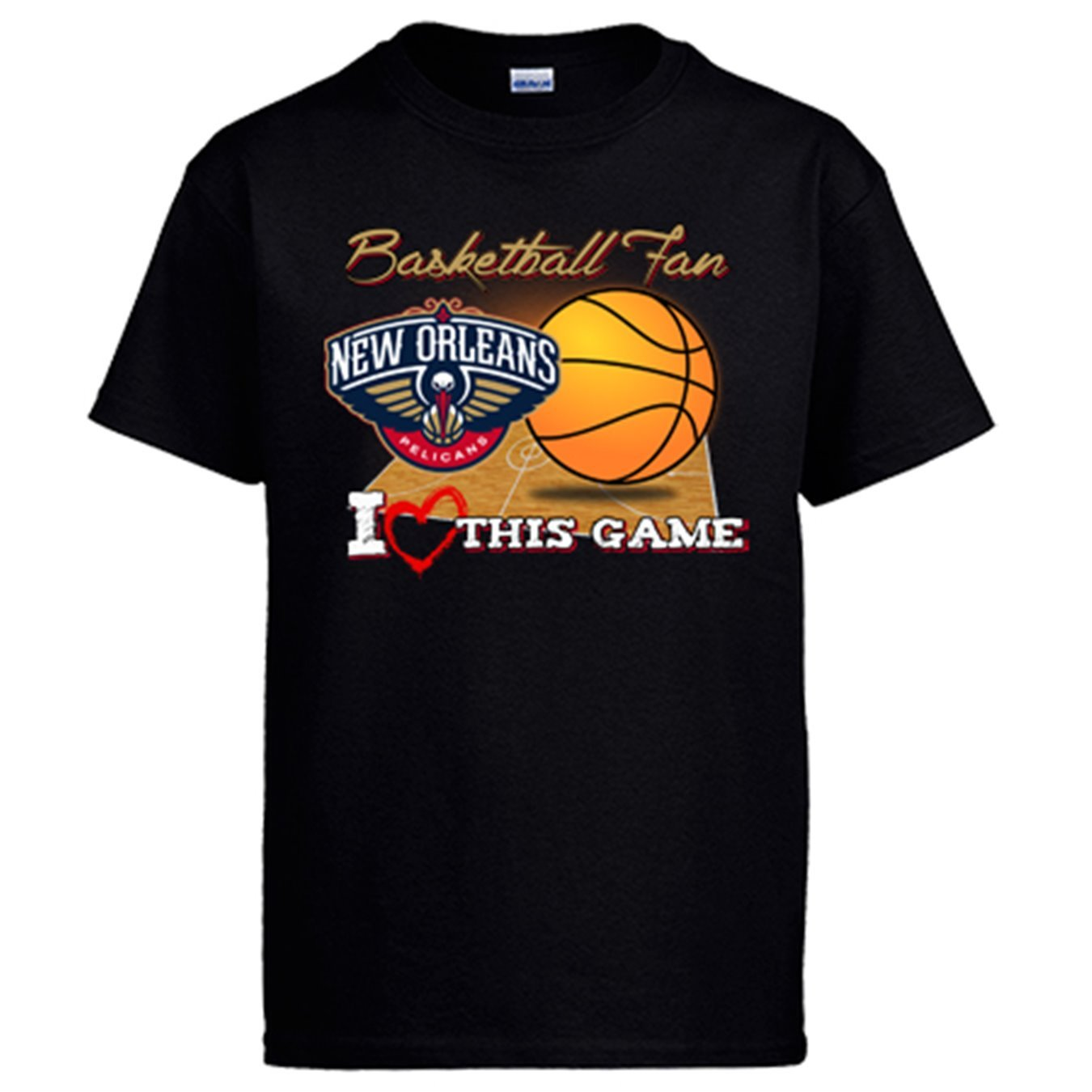 Camiseta NBA New Orleans Pelicans Baloncesto Basketball Fan I Love This Game: Amazon.es: Ropa y accesorios