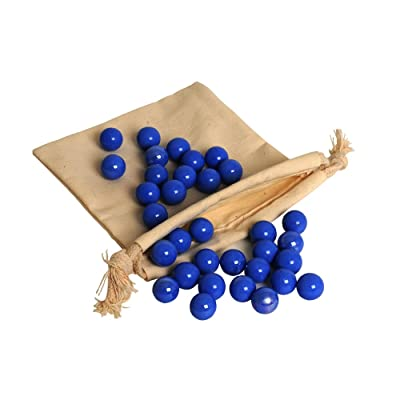 WE Games Replacement Glass Marbles for Solitaire: Toys & Games