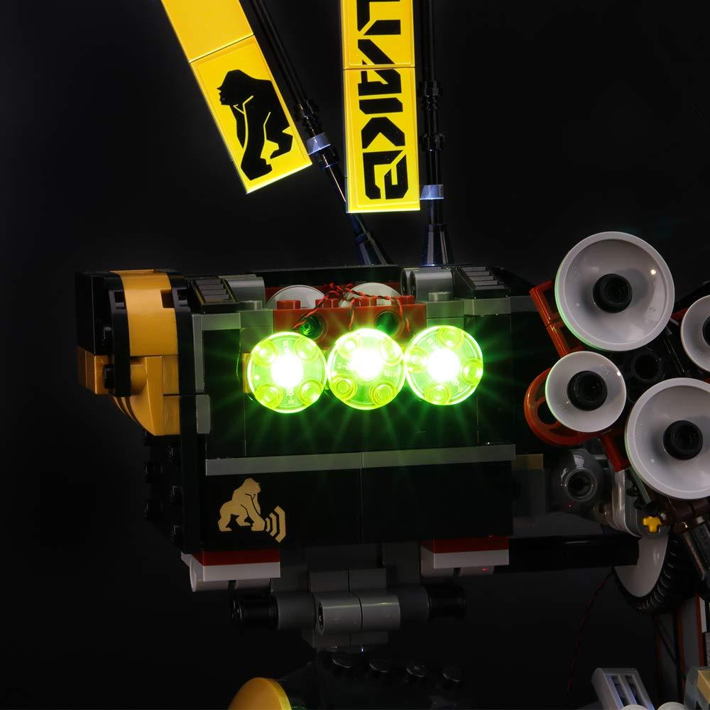 BRIKSMAX Kit de Iluminación Led para Lego Ninjago Robot ...