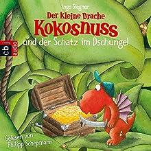 Der kleine Drache Kokosnuss und der Schatz im Dschungel (Der kleine Drache Kokosnuss 12) Hörbuch von Ingo Siegner Gesprochen von: Philipp Schepmann