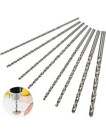 ASDOMO Set di 4 Mini mandrino per Trapano Elettrico da 0,3-4 mm Silver