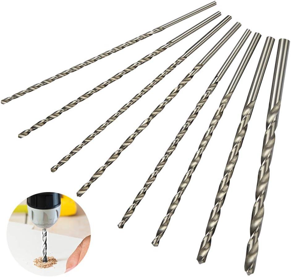 5mm JAOMON 8 St/ück Spiralbohrer HSS Schlangenbohrer Set Lang Holzspiralbohrer Twist Drill Set mit Durchmesser 4mm 10mm 8mm 6mm 4.2mm 5.2mm 4.5mm
