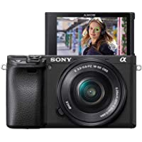 Sony Alpha 6400 - Cámara evil APS-C con objetivo zoom potente Sony 16-50mm f/3.5-5.6 (Enfoque automático rápido 0.02s…