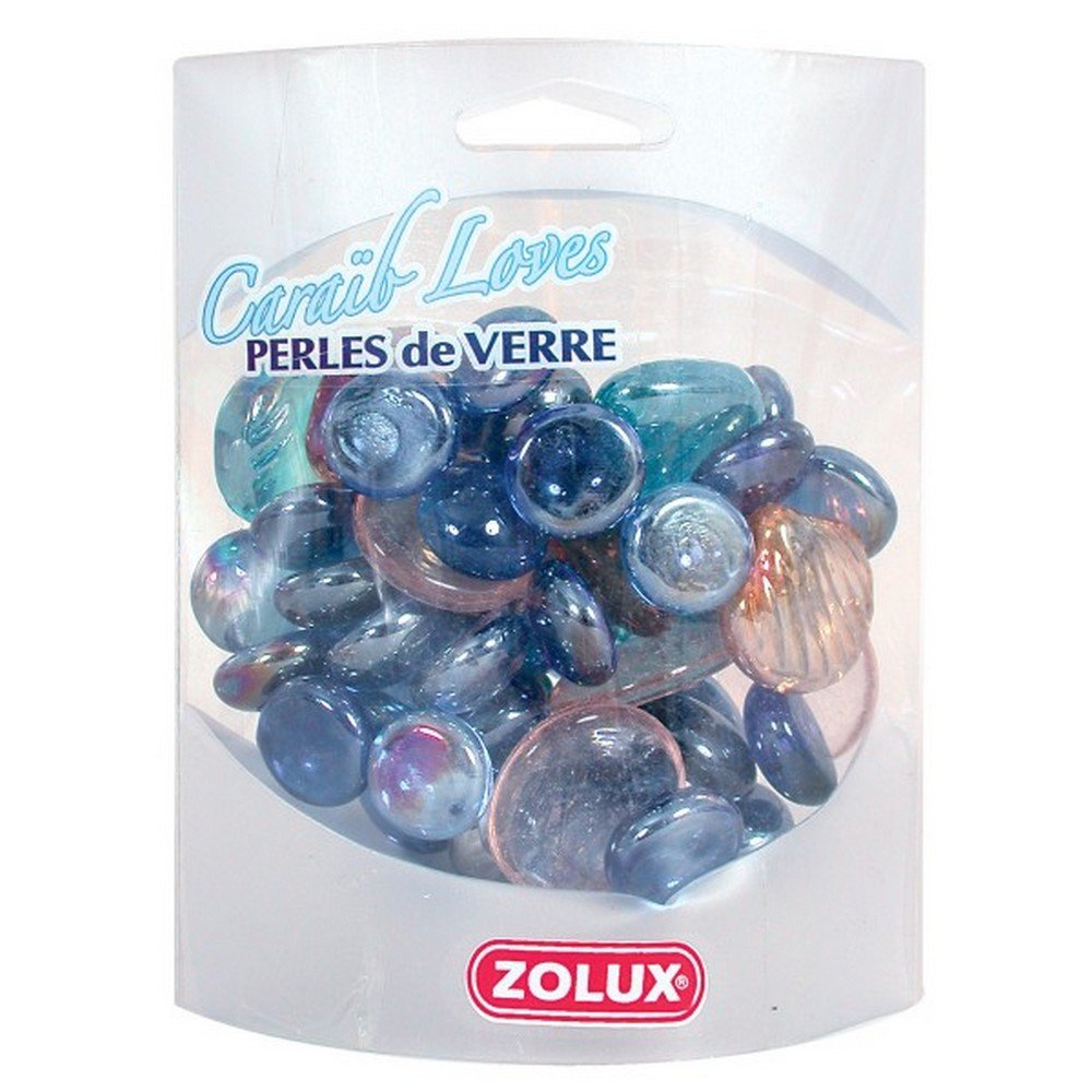 Zolux Caraib Loves Perles en Verre pour Aquarium 3336023480923