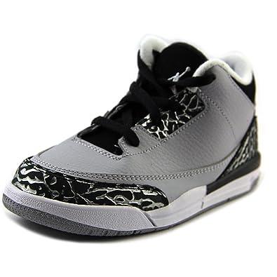 Bébé 3 Jordan Pour Bt Nike Naissance Gris Chaussures De Retro RfqxS8