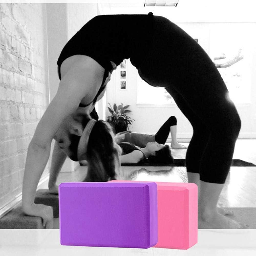 GAKIN 2 Pcs Dance Blocks Support Yoga Block Set Support Deepen