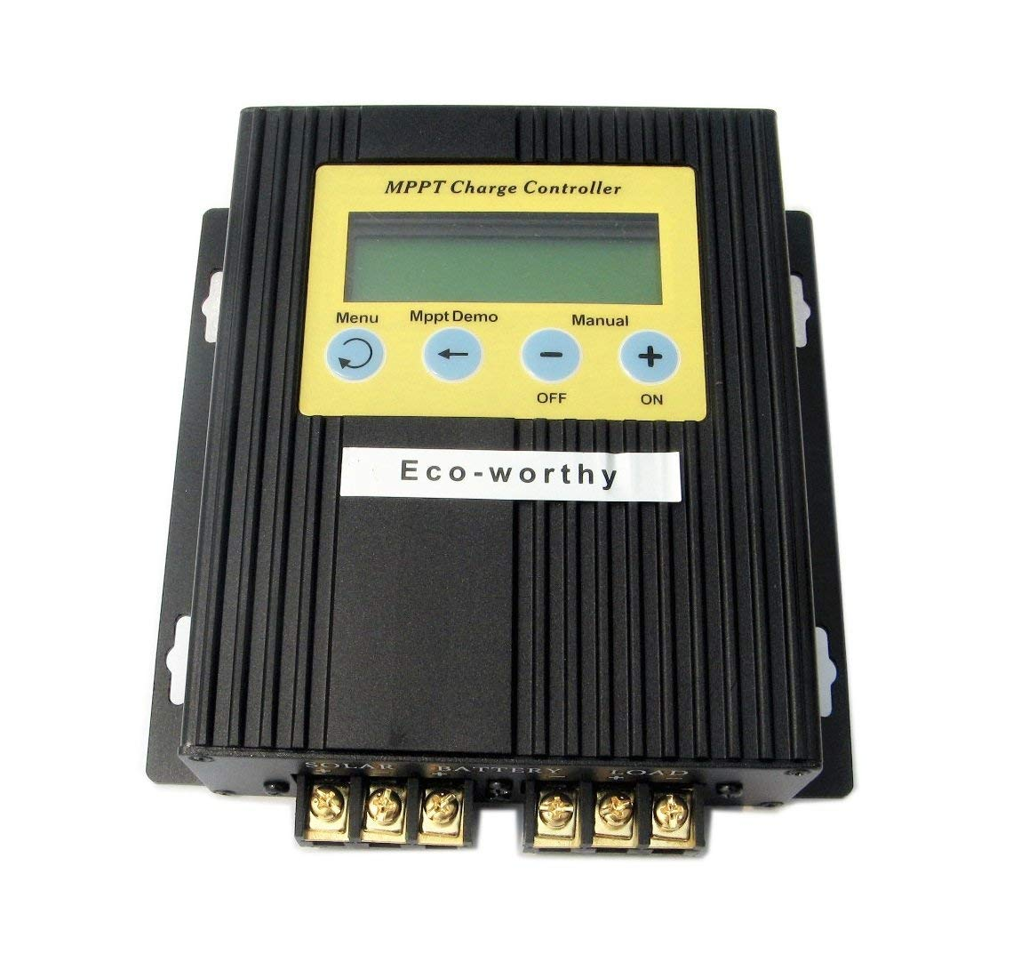ECO-WORTHY 20A MPPT Solar Charge Controller Solar Regulator for 500W Solar Kits by ECO-WORTHY